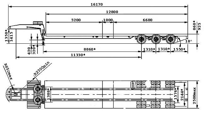 Трал ЧМЗАП-990640 по