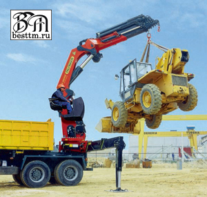 Кран манипулятор Palfinger РК 65002-SH серии High Performance