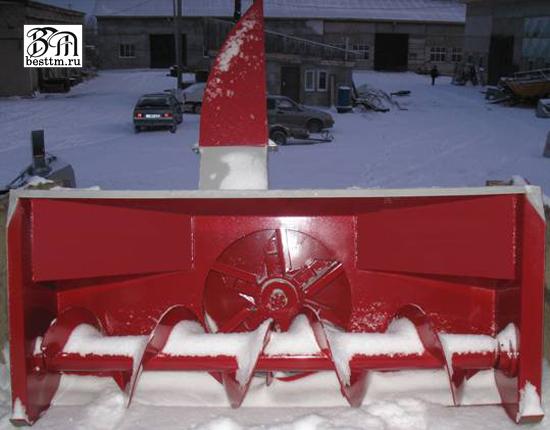 Ротор для снега на мтз 80 своими руками 30